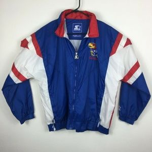 Kansas Jayhawks Vintage Starter Jacket 90's Univer